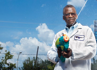 Lonnie G. Johnson - Inventor of the Super Soaker